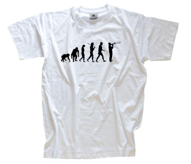 TROMBONE PLAYER CROSSING posaune Instrument T-Shirt S-XXXL