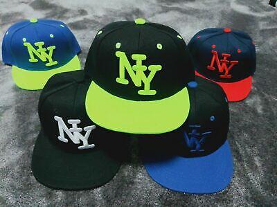 Attivo New York Ny Boy Girl Hip Hop Berretto Da Baseball Bambini Snapback Cappello Da Sole I Bambini Scuola- Tecniche Moderne