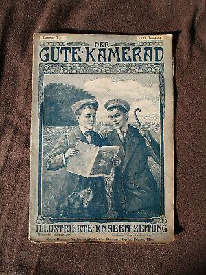 Der Gute Kamerad 10 1911 Seeleute Kriegsmarine Schiff Braunschweig Rom Offiziere Ein Unbestimmt Neues Erscheinungsbild GewäHrleisten