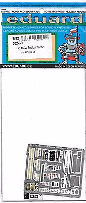 32 162A 1 Photo Etch Revell 539 ST Eduard Kit For Spatz Details He Interior TqUwxW4pf8