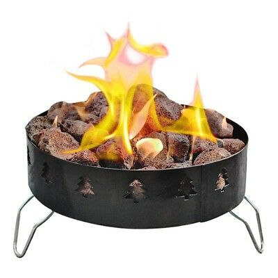 Portable Propane Pit Fire Outdoor Cooking Campfire Lava ...