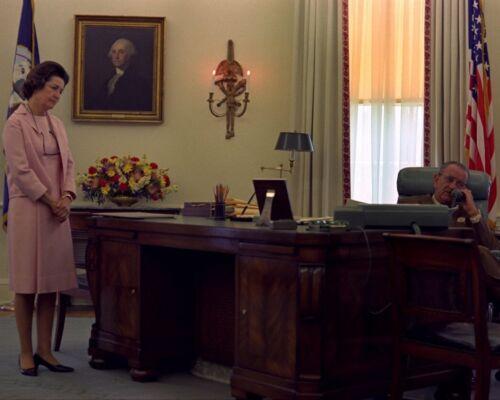 President Lyndon Johnson calls Kennedy family after RFK death New 8x10 Photo