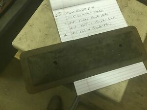 1931 1932 1933 auburn engine side cover breather plate