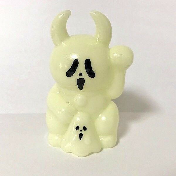 FORTUNE GHOST UAMOU GID Ver sofubi soft vinyl figure kaiju real head Japan F/S