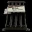 Indexbild 2 - Support de dosettes à café Capsule Nespresso en métal longueur 38cm rangement
