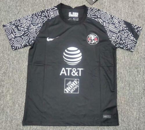 2020-21 Club America Second Away Soccer Jersey Short Sleeve T-Shirt Men