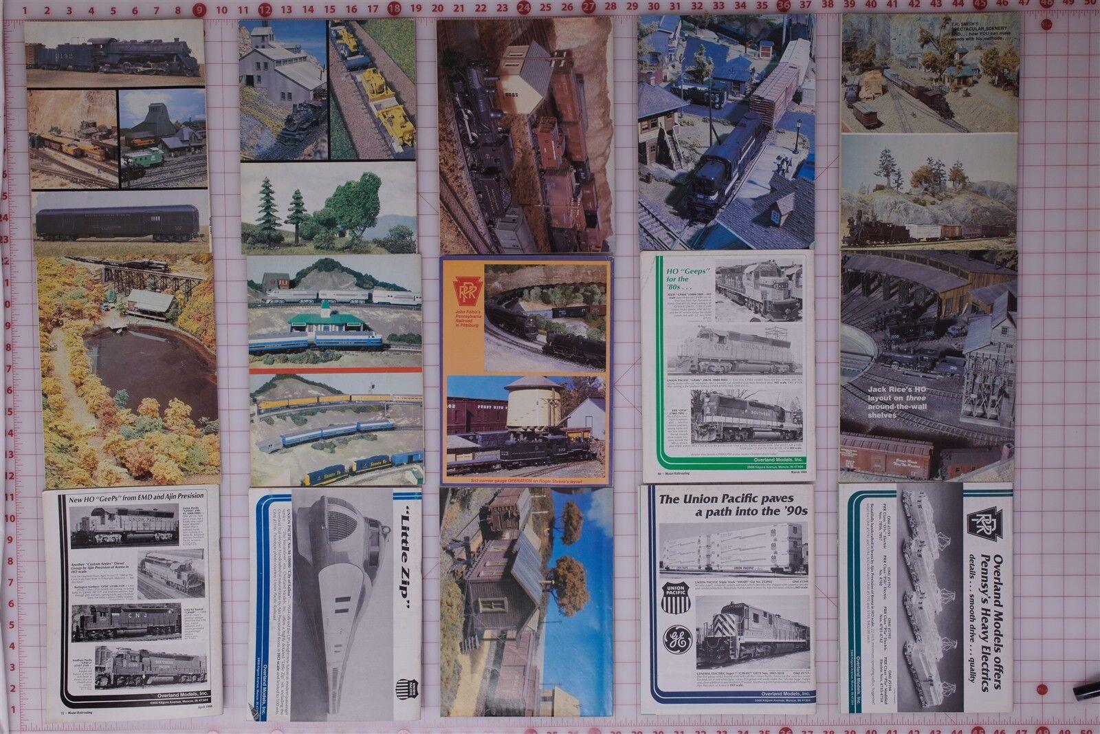 Model Railroading  27 Issues  1981-1995