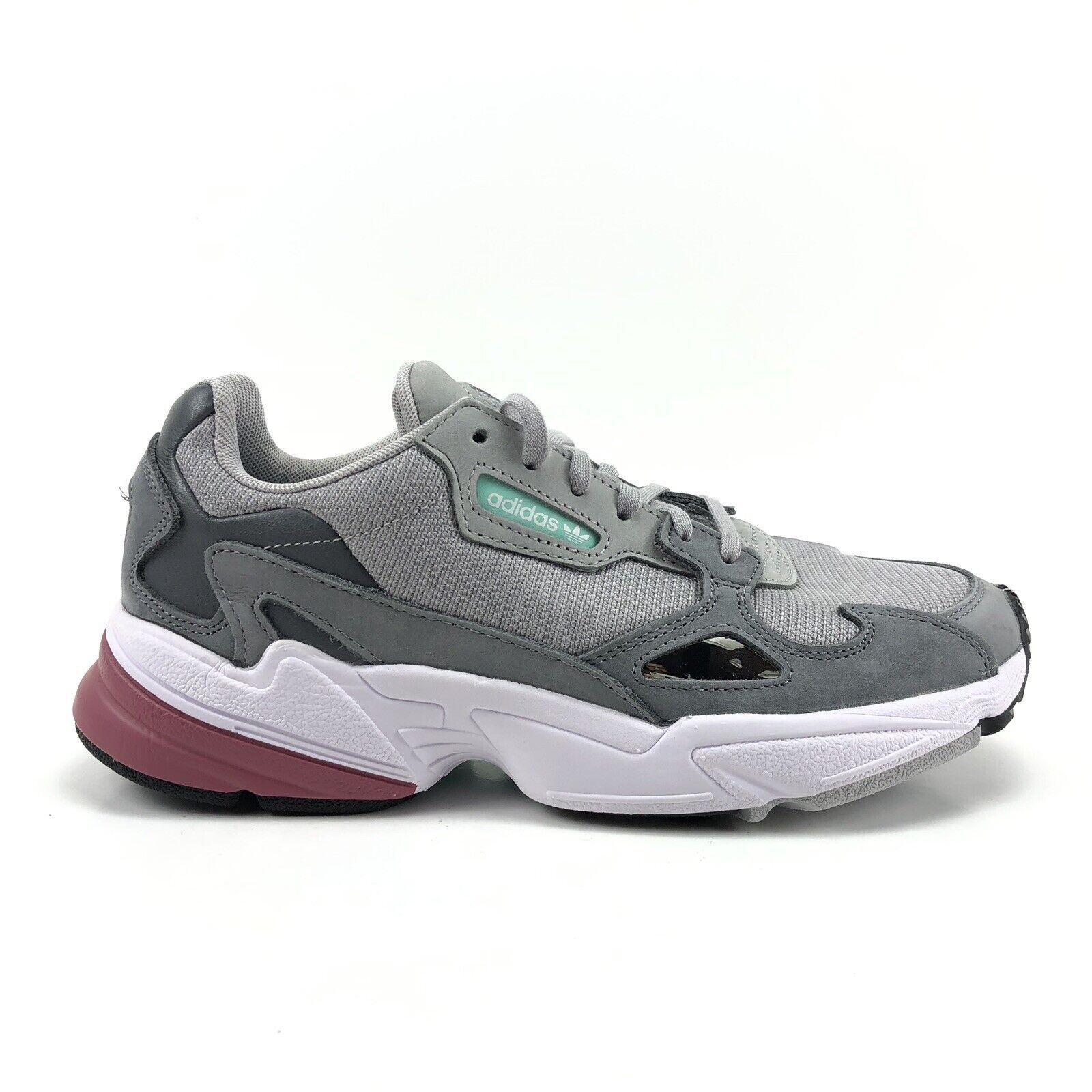 Adidas Falcon donna  Fashion Running scarpe grigio Kylie Jenner  consegna veloce