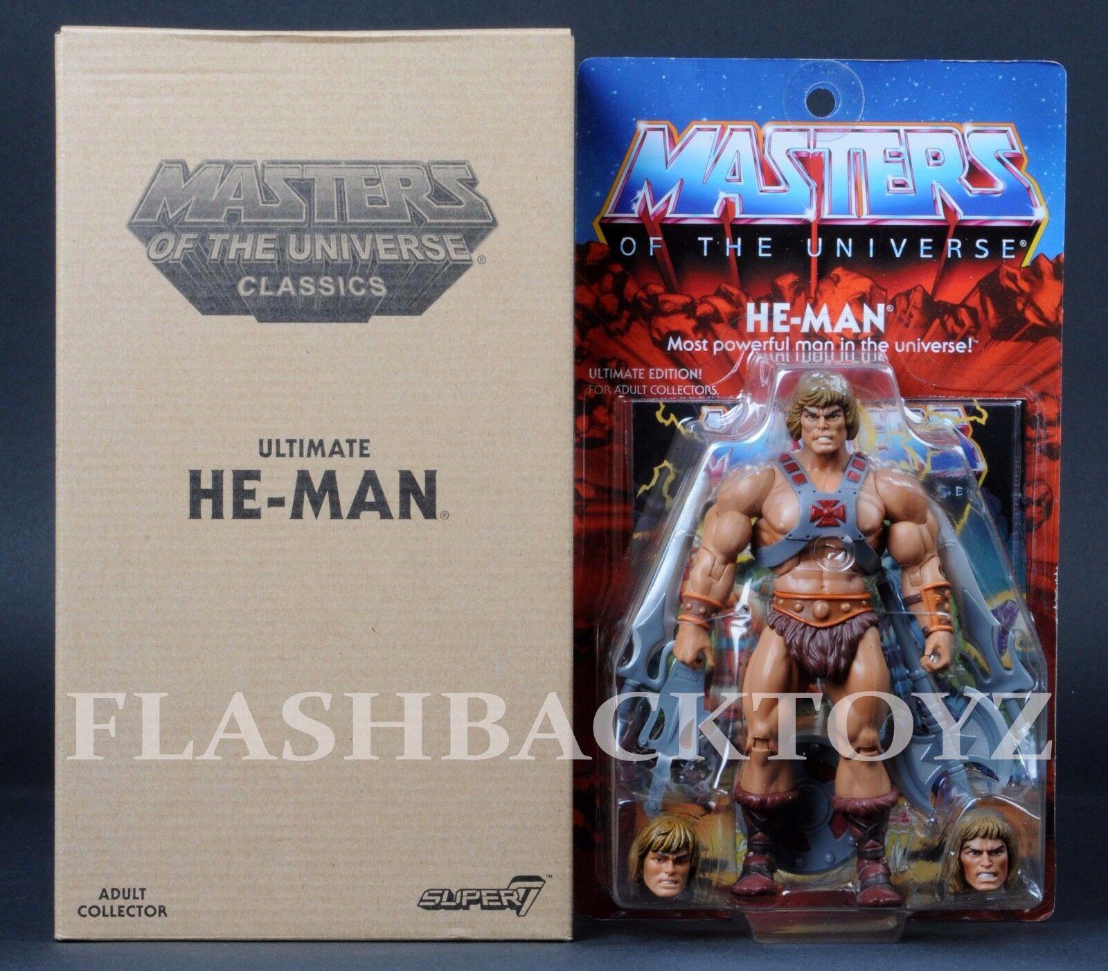 2017 Super 7 MOTU Ultimate HE-MAN Masters of the Universe Classics Ultimates