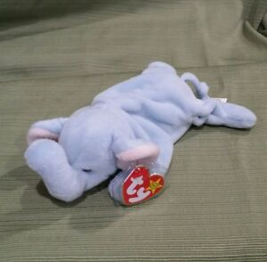 cd475d6cfea Ty Beanie Baby Peanut the Light Blue Elephant PE 1995 8421040629