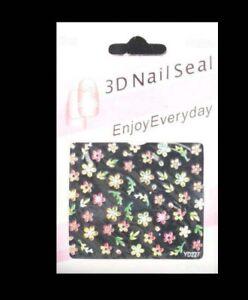 Bindi-Bijou-Decoration-Stickers-Autocollant-pour-Ongles-Art-Nail-2133