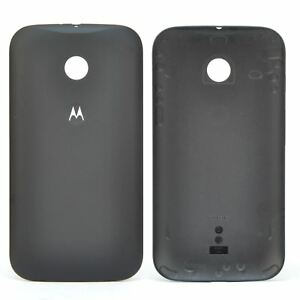 brand new fa0e8 beecf Details about Genuine Battery Rear Cover Shell Case for Black Motorola Moto  E 1st Gen