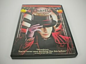 CHARLIE-AND-THE-CHOCOLATE-FACTORY-DVD-2-DISC-DELUXE-GENTLY-PREOWNED
