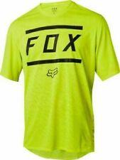 Mens FOX Ranger SS Bars Cycling Jersey Mountain Bike Short Sleeve MTB Racing
