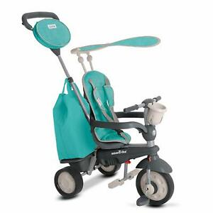 Smartrike Voyage 4 En 1 Bébé Évolutif Tricycle Enfant 10-36 Moi Smart Trike Vert