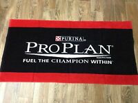 Purina Pro Plan Beach Towel 59 X 30 Brand Factory Sealed 100% Cotton Dog Cat