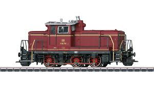 Märklin 37861 H0 Diesellok V 60 der DB - Rot, Epoche III, Wechselstrom AC
