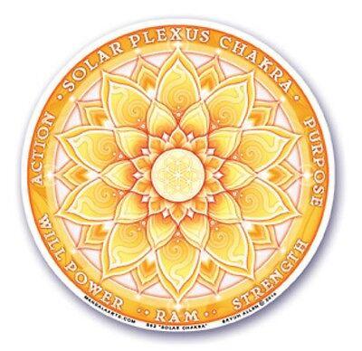 Mandala Arts Window Sticker Double Sided Third Eye Chakra 11.7cm