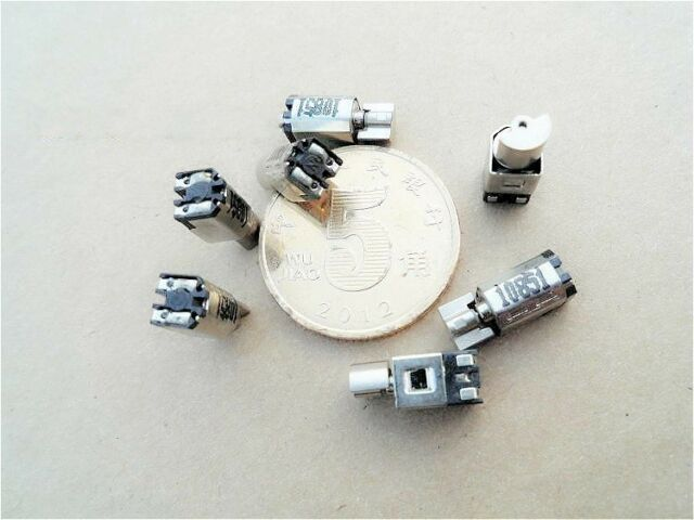 5pcs Diameter 4MM Ultra-miniature motors Micro vibration motor Rotor motor