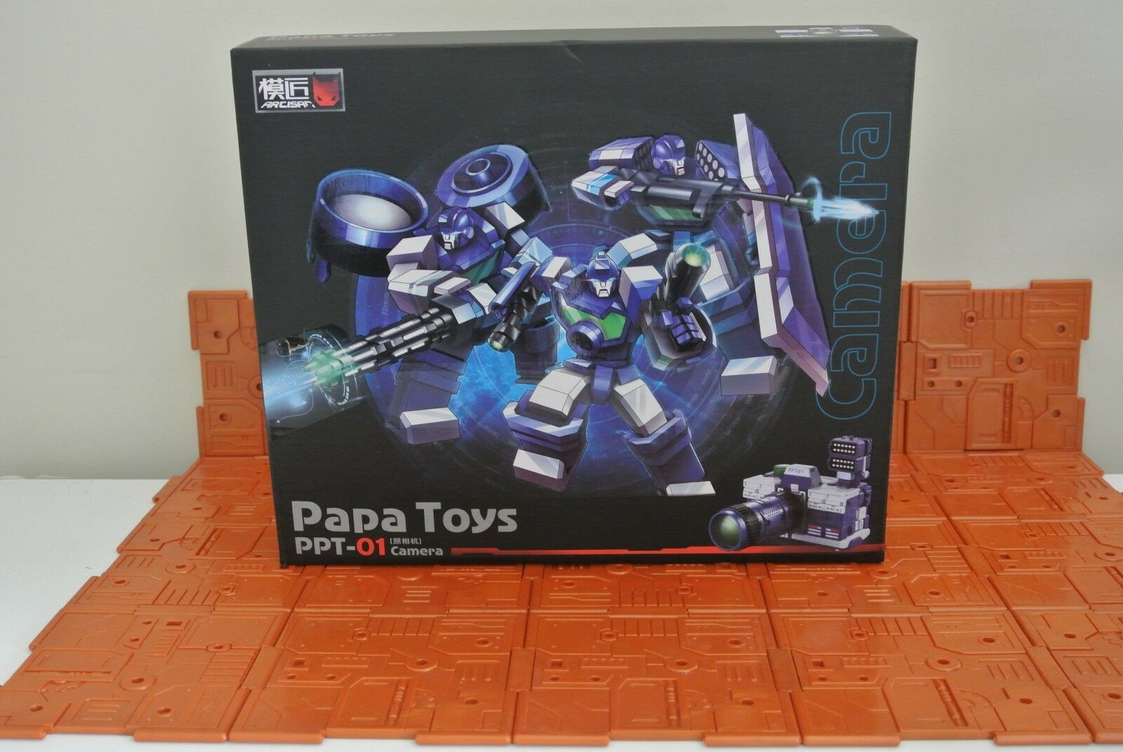 Transformers G1 PAPA TOYS PP-01 Camera Reflector PPT01 CAMERA -Christmas sales-