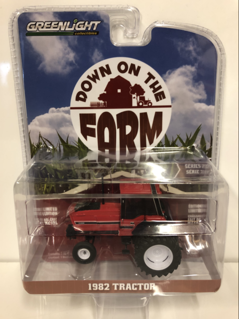 1982 Tractor 6 Wheel Down on the Fram 1:64 Scale Greenlight 48020E