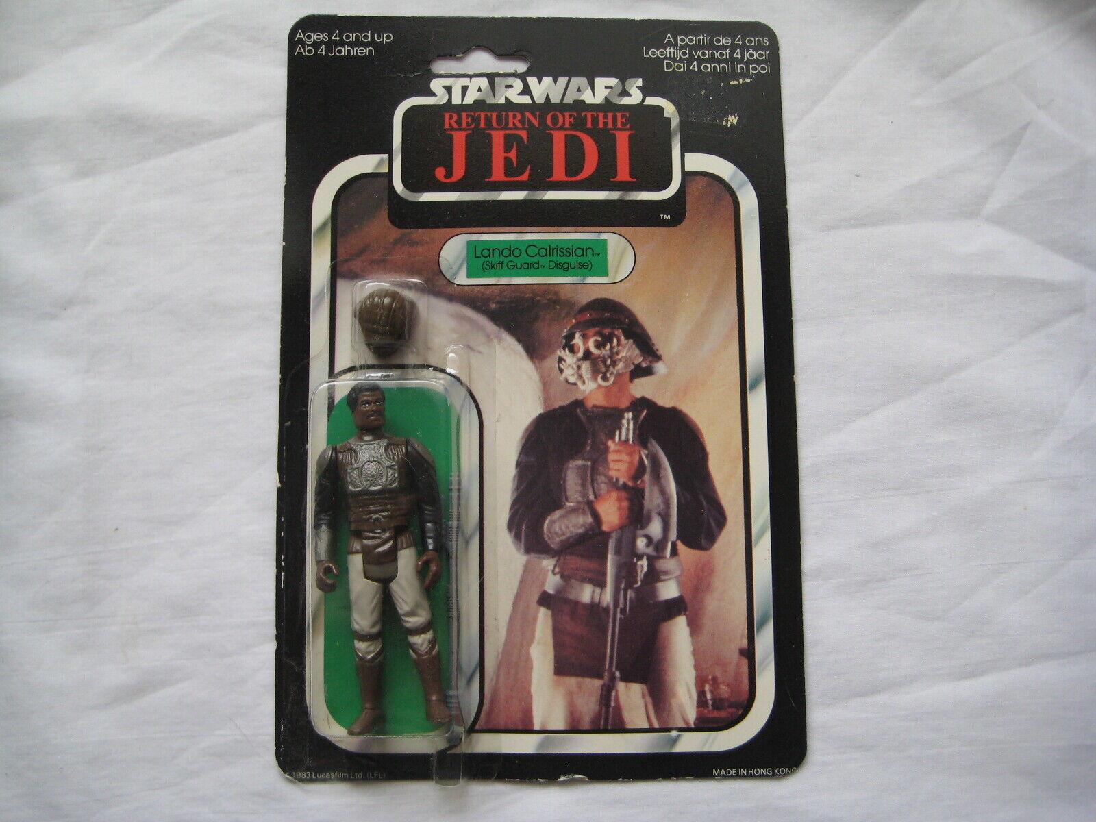 1984  estrella guerras Return Of The Jedi Leo Calrissian Skiff Guard Disguise Unopened  compra nuovo economico