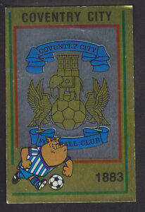 Panini - Football 85 - # 55 Coventry Foil Badge