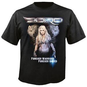 Musik FleißIg Doro Wolves T-shirt Spezieller Sommer Sale Herrenmode