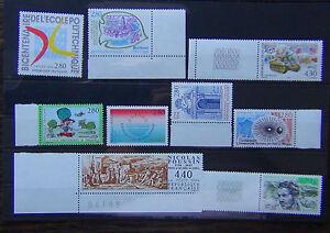 FRANCIA-1994-LIBERAZIONE-artista-Arts-amp-Crafts-YACHTING-TIMBRO-ESPOSIZIONE-Banca-Gomma-integra-non