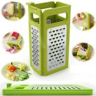 Top selling Folding Box Grater Device Slicer Flat Coarse Fine Ribbon Etched Bla
