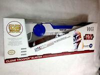 Star Wars Wii Wireless Clone Trooper Blaster Nintendo Wii With Bonus Sticker