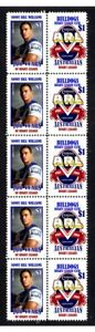 CENTENARY-OF-RUGBY-STRIP-OF-10-MINT-VIGNETTE-STAMPS-CANTERBURY-BULLDOGS-SBW