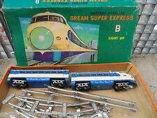19652 DREAM Super Express B battery operated japón Modern Toys used 1002