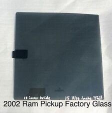 Ram CHRYSLER OEM 2014 3500 Rear Window Glass-Window Motor 68054772AB