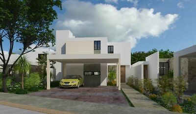 Casa en venta en Merida, Yucatan. Privada Aleza en Conkal mod. 152