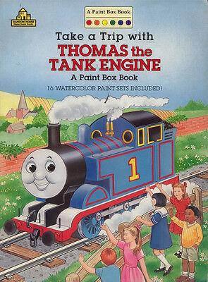 Thomas Coloring Book Rare Unused Ebay