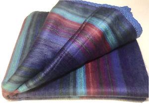 Soft /& Warm S American Alpaca Blanket Woolly Llama Exclusive Crochet Edging