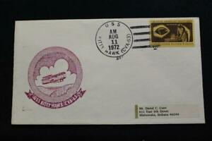 Navale-Cover-19972-Nave-Annullo-Postale-SHIP-039-S-Marchio-Uss-Kitty-Hawk-CVA-63