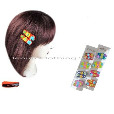 10X Baby Girls Hairpin 4cm BB Clips Snap Hairpins Toddler Kids Hair Accessory $T