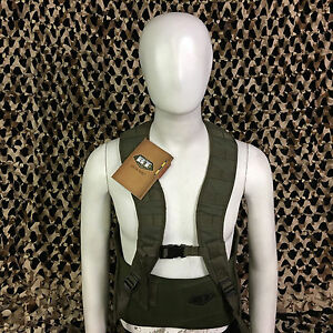 NEW-BT-Battle-Tested-STATIC-Molle-Tactical-Paintball-Vest-Olive-Green-L-XL