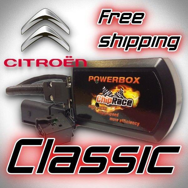Chip Tuning Box CITROEN C5 1.6 HDI 109 112 HP 2.2 HDI 133 170 HP CR
