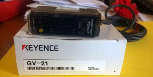 KEYENCE GV-21 Digital CMOS Laser Sensor Amplifier NEW