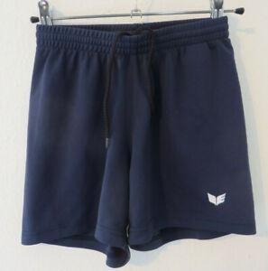 ERIMA ° coole Sporthose Gr. 140 blau kurz Jungen Mode ...