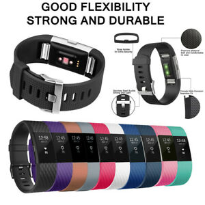 10-Pack-Replacement-Wristband-For-Fitbit-Charge-2-Band-Silicone-Fitness-Large