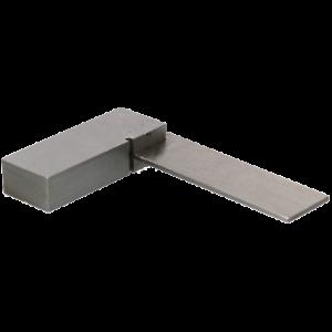 """2"""" Ingénieurs Square Precision 90 ° Angle Équerre Acier Poli Machiniste-afficher Le Titre D'origine"""