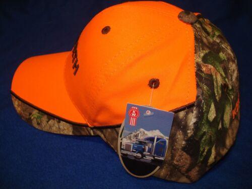 KENWORTH HAT ORANGE Vif Camouflage Bill Truckers Cap Livraison Gratuite *