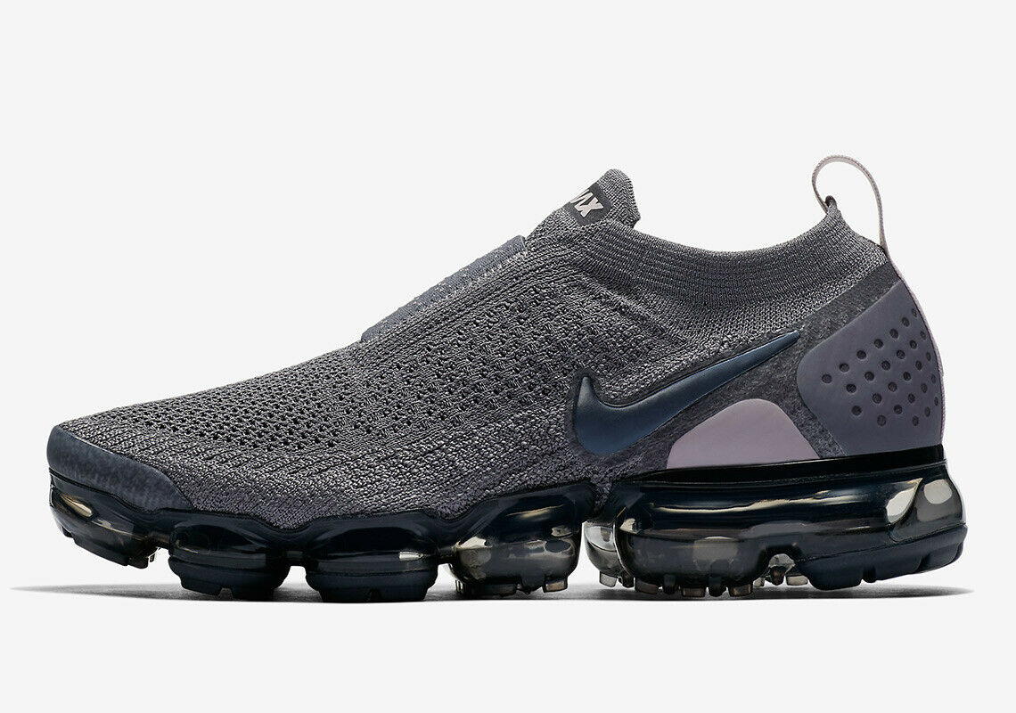 Nike Vapormax Moc 2 Grey Size 9 US Womens Athletic Running shoes Casual Sneakers