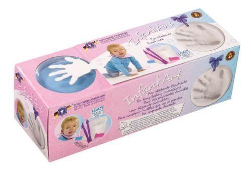 Feuchtmann Baby Abdruck-Set Infant Art Impression Basic Handabdruck Fußabdruck