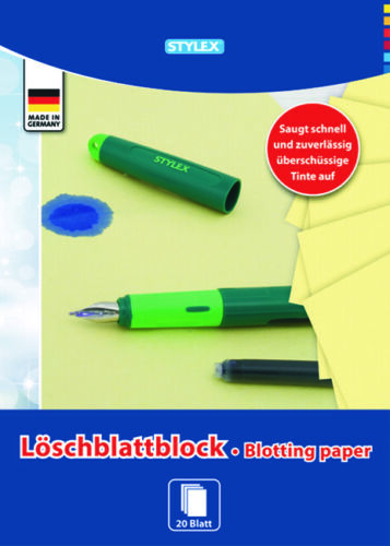 Löschblatt Blöcke DIN A4 20 Blatt Löschblätter Löschpapier Löschblattblock !