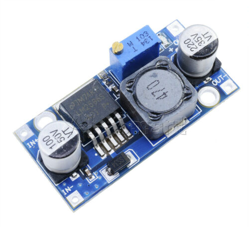 10PCS LM2596 DC-DC Step-down Adjustable Power Supply Converter Module 1.25V-35V